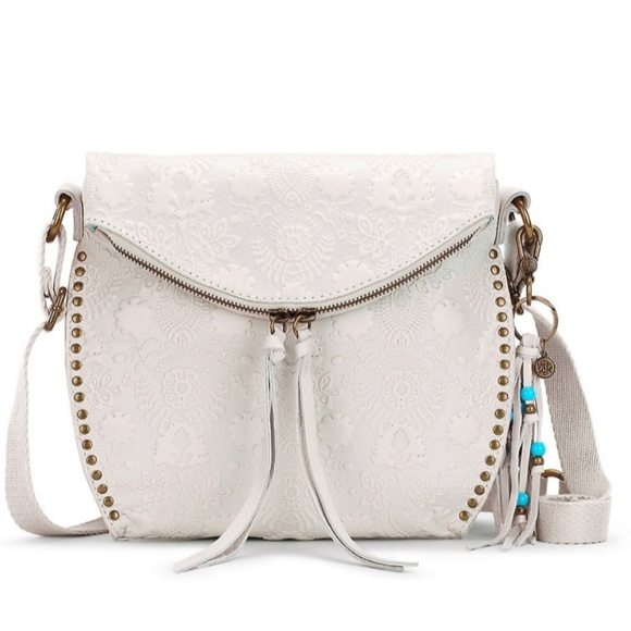 The Sak Handbags - The Sak Silverlake white crossbody